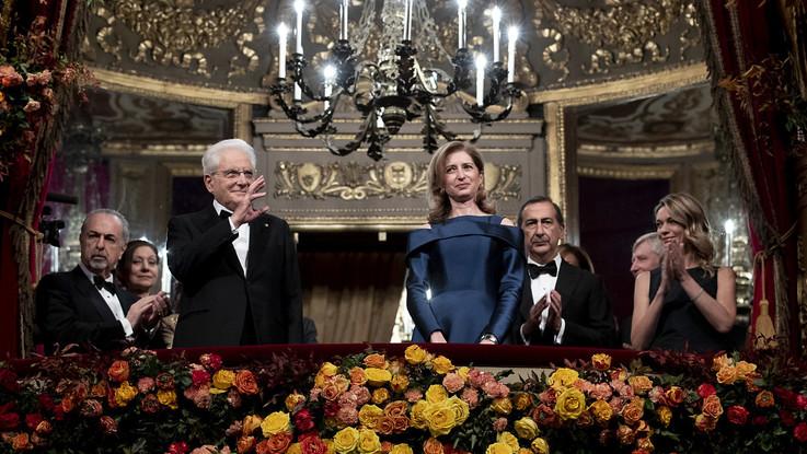 L'Attila di Verdi apre la stagione della Scala. Lungo applauso per Mattarella