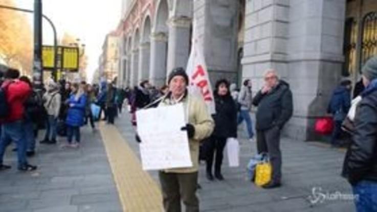 Torino, flash mob dei No Tav: sabato 8 dicembre la protesta in piazza