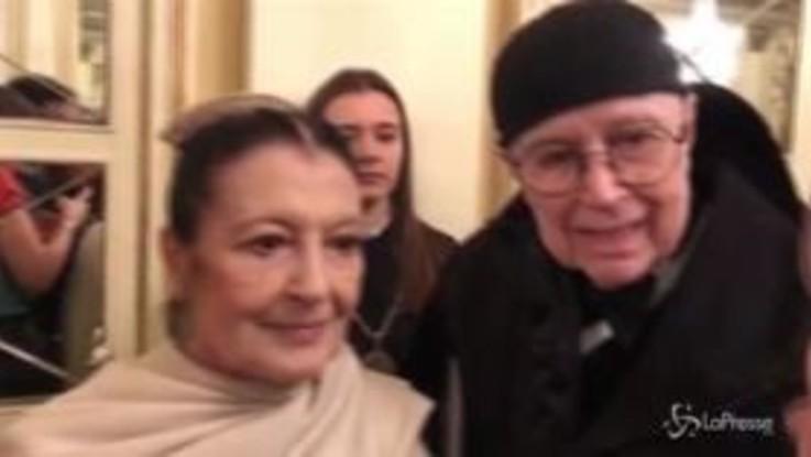 """Carla Fracci alla Scala: """"Accoglienza a Mattarella meritata"""""""