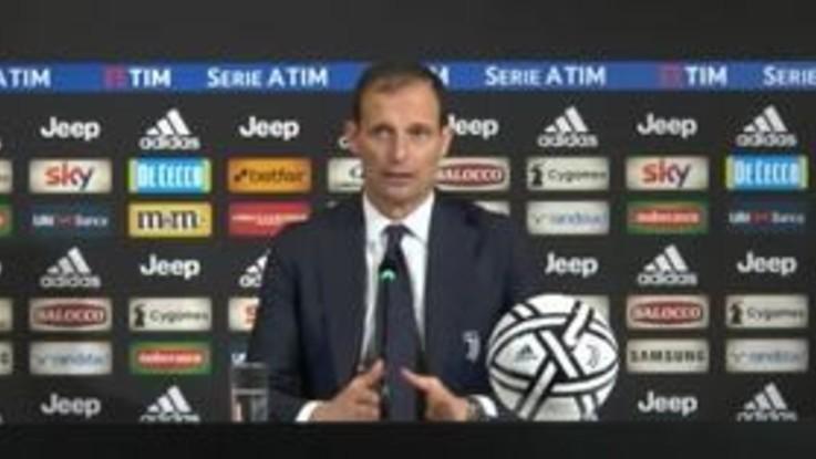 """Serie A, Juve-Inter 1-0, Allegri: """"Squadra efficace e concreta. Nel secondo tempo più compatti"""""""