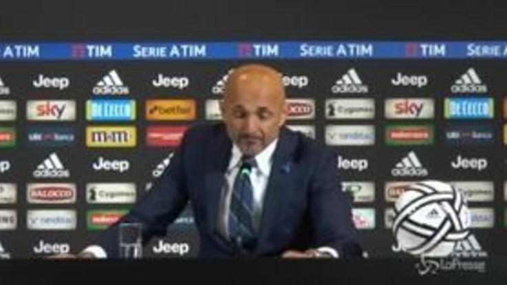 """Seria a Juve-Inter 1-0 derby d'Italia, Spalletti: """"Non riusciamo a mantere alto il livello di cazzimma"""""""