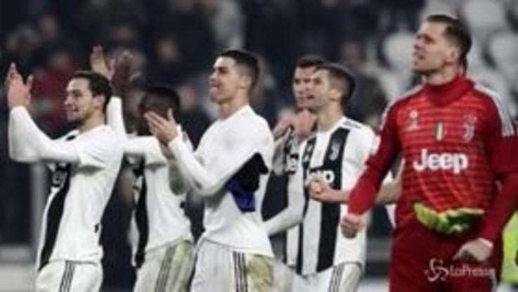 Serie A: Mandzukic decide, alla Juve il Derby d'Italia. Inter ko 1-0 allo Stadium