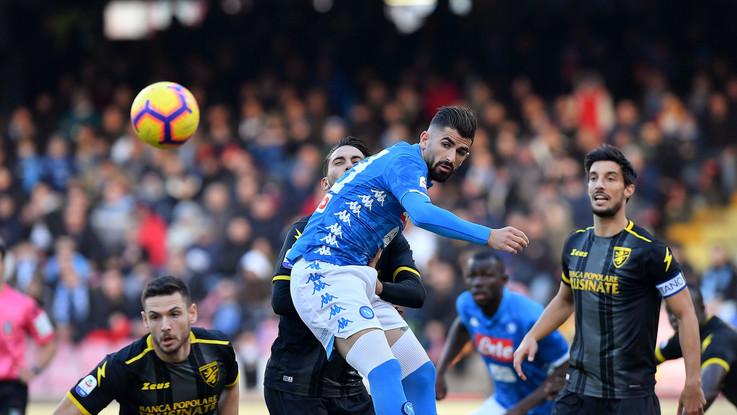 Serie A, Napoli-Frosinone 4-0 | Il Fotoracconto