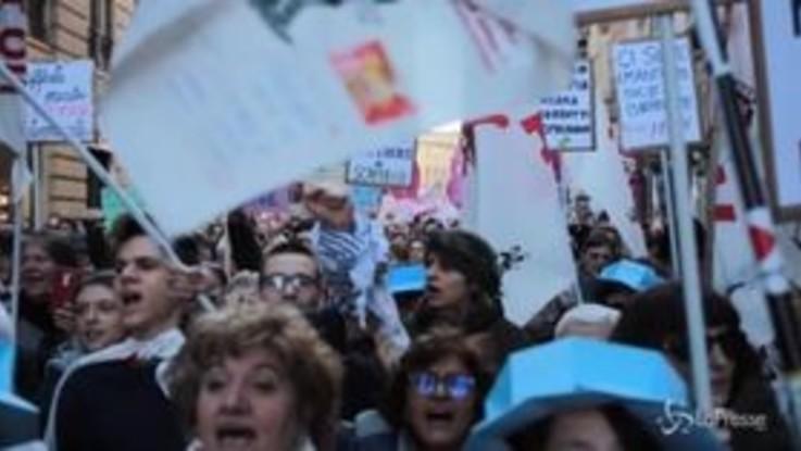 """No Tav, la protesta contro la politica: """"Nessun governo ci è amico"""""""