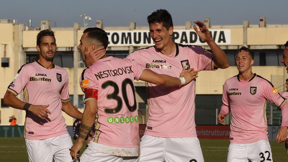 Padova-Palermo 1-3. Nestorovski chiude i conti ©