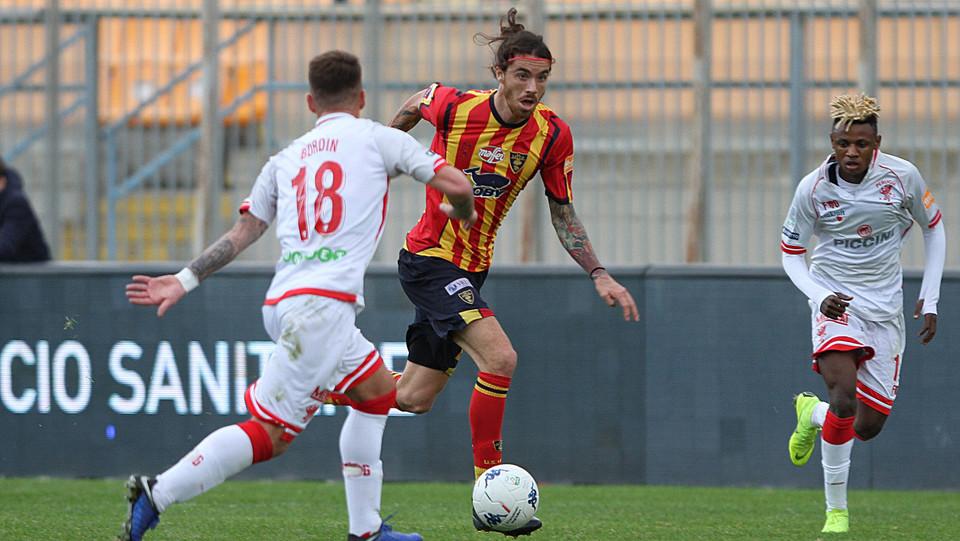 Lecce-Perugia 0-0. Tabanelli e Bordin ©