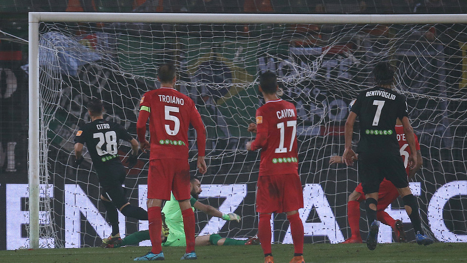 Venezia-Ascoli 1-0. Citro segna il gol della vittoria ©