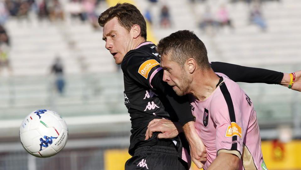 Padova-Palermo 1-3. Trevisan contro Rajkovic ©