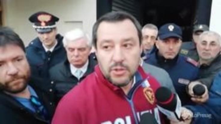 """Tragedia di Corinaldo, Salvini: """"Nessun decreto può prevenire questi episodi"""""""