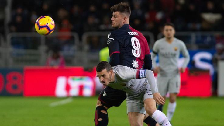 Serie A, Cagliari-Roma 2-2 | Il Fotoracconto