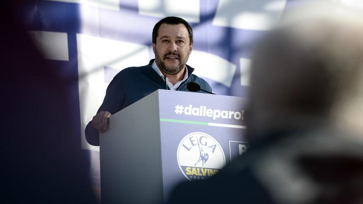 Lega, da Pontida a Roma: 80mila in piazza. E Salvini cita Luther King e De Gasperi