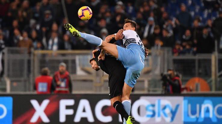 Serie A, Lazio-Sampdoria 2-2 | Il Fotoracconto
