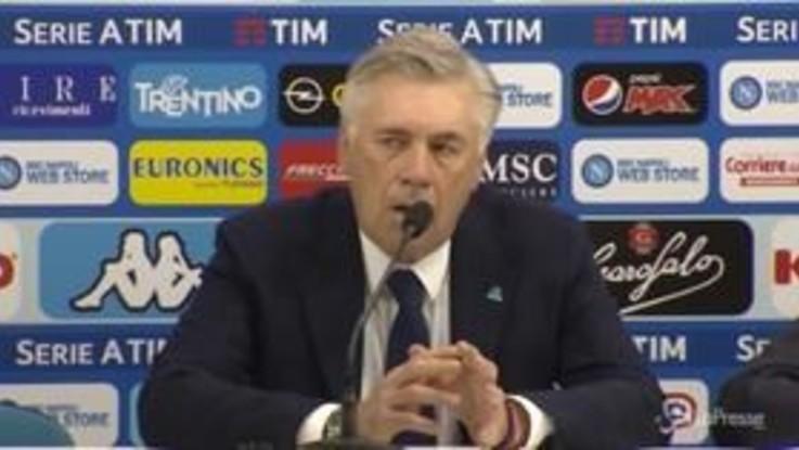 """Napoli, Ancelotti guarda già alla Champions: """"A Liverpool per fare la nostra migliore partita"""""""