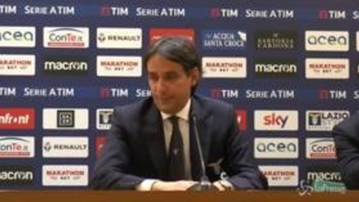 """Lazio-Sampdoria 2-2, Inzaghi: """"Avremmo meritato la vittoria"""""""