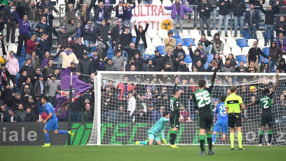 Il gol di Simeone ©