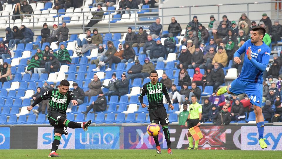 Il gol di Sensi del Sassuolo: 3-1 ©