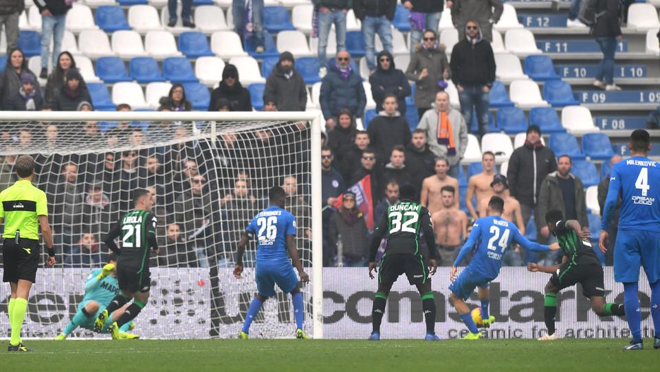 Il gol di Benassi della Fiorentina: 3-2 ©