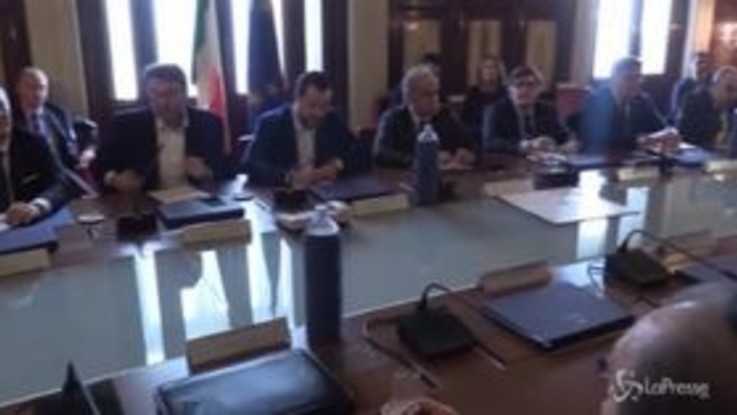 Al Viminale incontro tra Salvini e gli imprenditori su manovra e infrastrutture