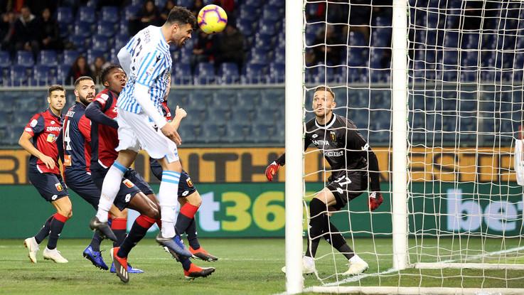 Serie A, Genoa-Spal 1-1 | Il Fotoracconto