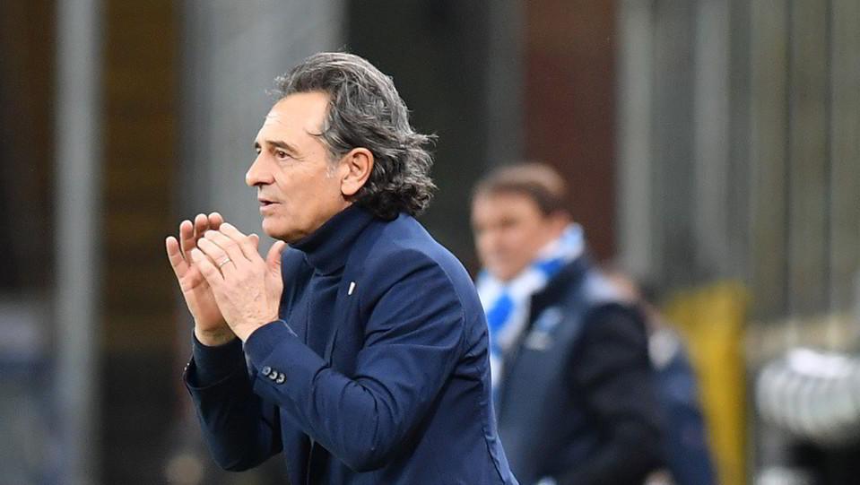 L'esordio di Prandelli sull panchina del Genoa ©