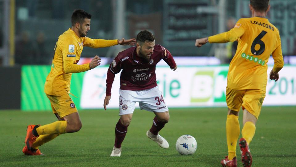 Livorno-Foggia 3-1. Davide Agazzi ©