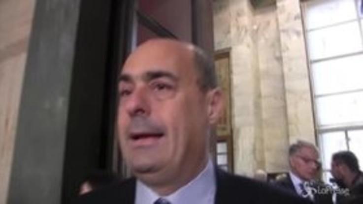 """Primarie, Zingaretti: """"Salvare il Pd per salvare democrazia"""""""