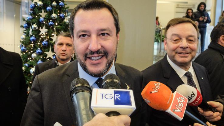 "Tav, Salvini lancia l'idea referendum: ""Io tifo sì"""
