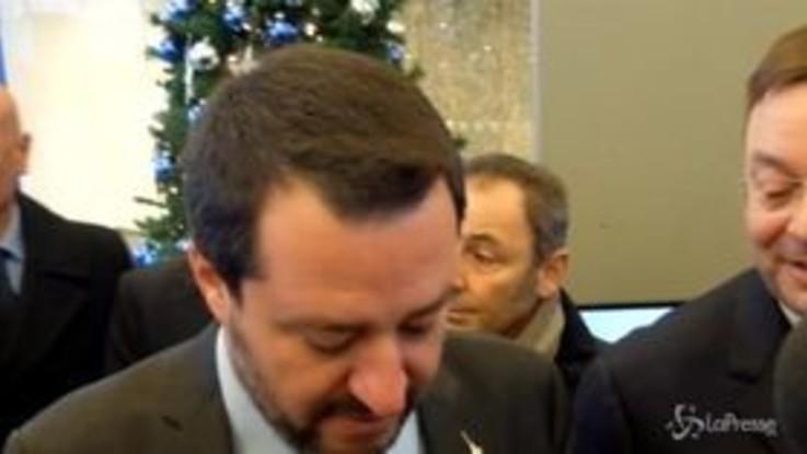 """Manovra, Salvini: """"Lavoriamo per garantire la crescita ed evitare immagini come quelle di Parigi"""""""