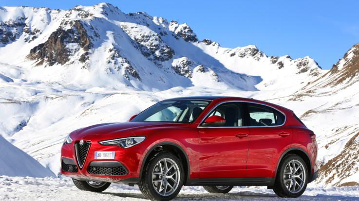 Alfa Romeo: emozioni sulla neve