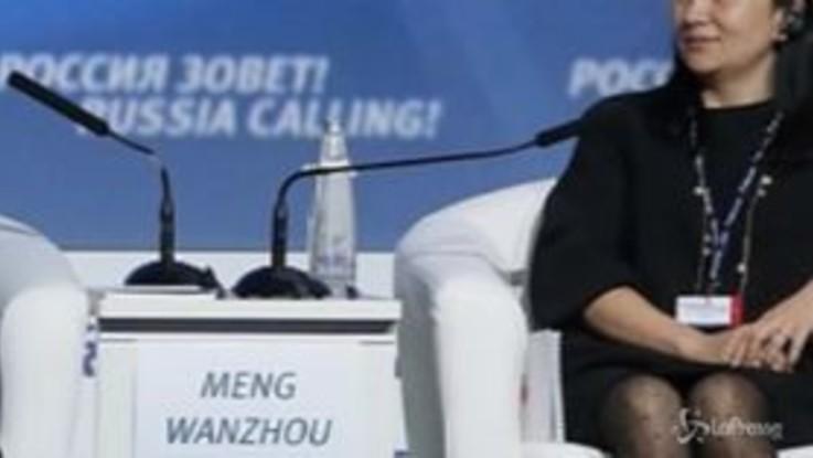 Lady Huawei scarcerata su cauzione, obbligata a restare in Canada
