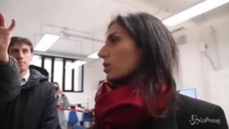 """Incendio via Salaria a Roma, Raggi: """"L'impianto non riaprirà"""""""