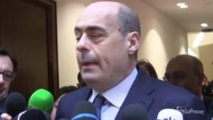 """Primarie Pd, Zingaretti: """"In Sicilia modello di partito che non voglio"""""""