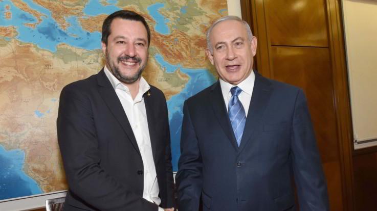 Salvini non cambia idea su Hezbollah terrorista, 'luna di miele' con Netanyahu