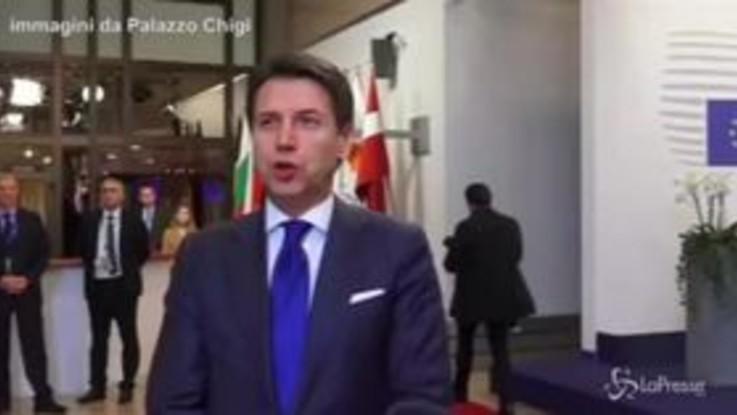 """Manovra, retromarcia di Conte dopo l'incontro con Junker: """"Deficit scende al 2,04%"""""""