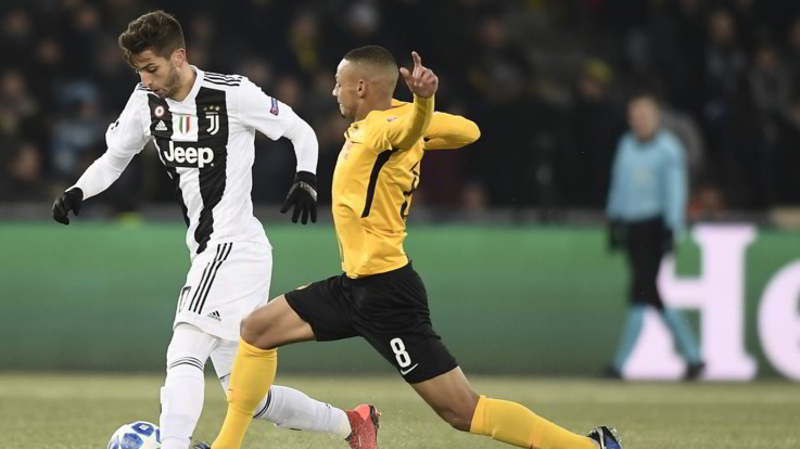 Champions League, Young Boys-Juventus 2-1 | Il Fotoracconto