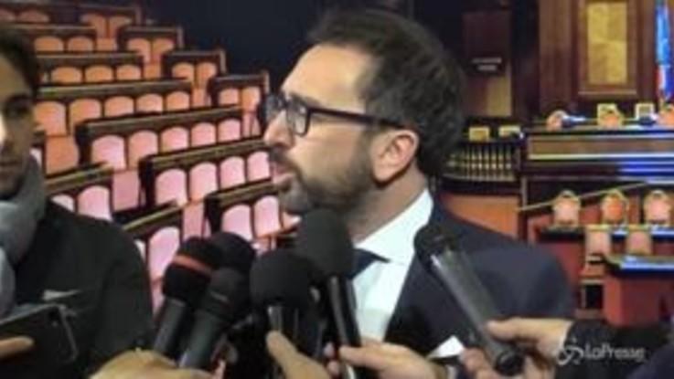 """Manovra, Bonafede: """"Mai detto che non avremmo mollato, non è una questione di decimali"""""""