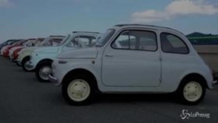 Fca, la Fiat 500 esposta al Moma di New York