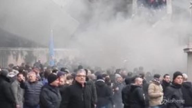 Roma invasa da 9mila tifosi tedeschi dell'Eintracht Francoforte: è massima allerta