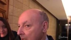"""Inter, Marotta: """"Spalletti? Un ottimo allenatore, deve lavorare con serenità"""""""