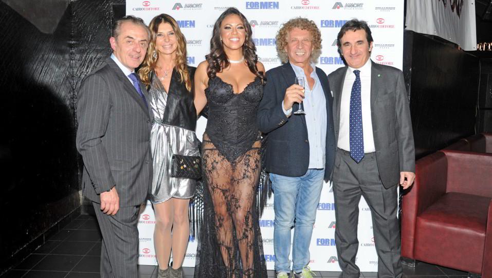 Andrea Biavardi, Urbano Cairo, Fabiana Britto, Aimont e Nanni Sibona Tacco ©