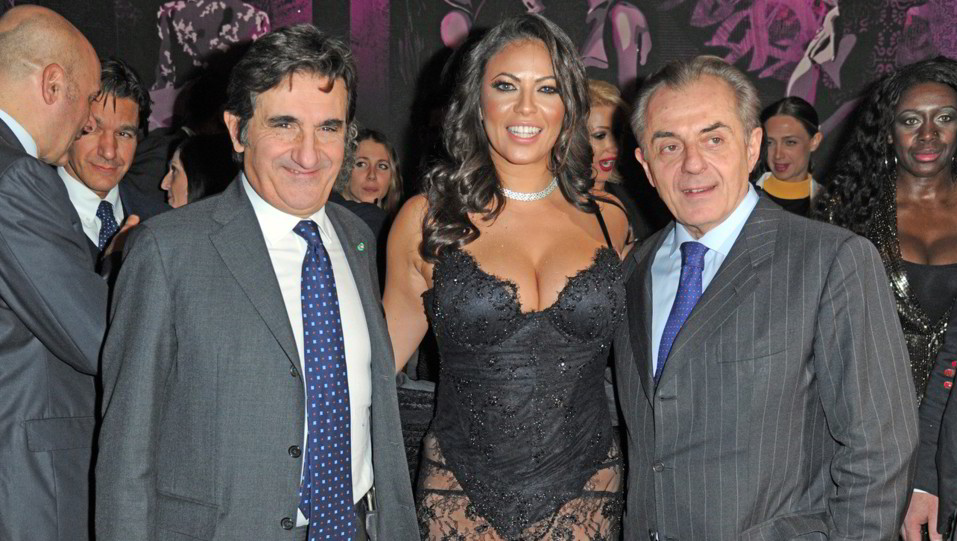 Andrea Biavardi, Fabiana Britto e Urbano Cairo ©