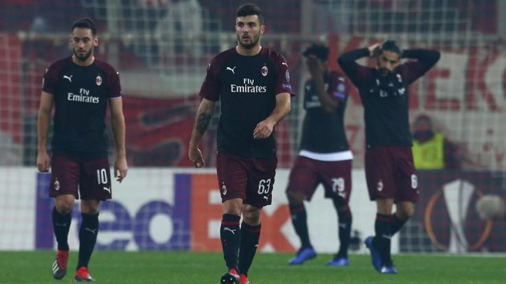 Cinque italiane su sei salutano tra Champions ed Europa League: il Milan dice addio
