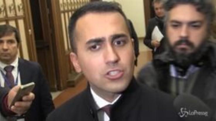 """Di Maio: """"Sì all'ecobonus, no alla tassa sull'auto degli italiani"""""""