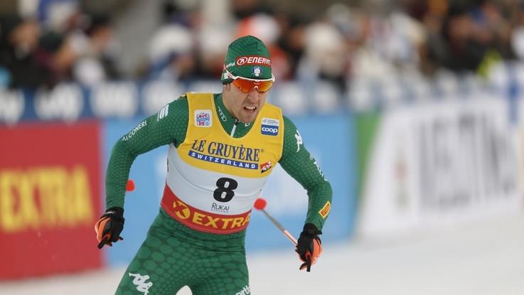 Sci di fondo, Pellegrino secondo nella sprint di Davos