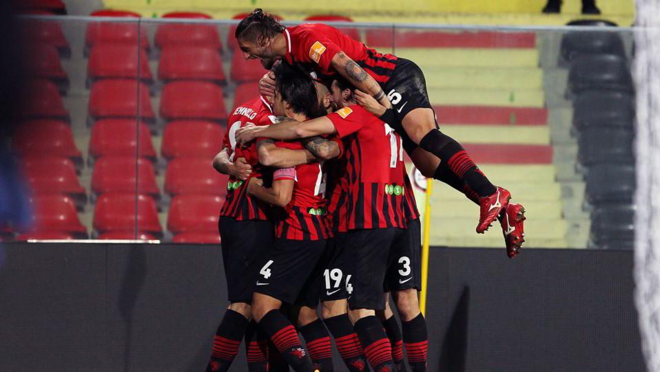 Foggia-Cremonese 3-1. Kragl esulta ©