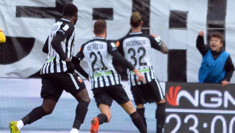 Ascoli-Cittadella 1-1. Il pareggio di Ardemagni ©