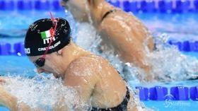 Nuoto, record italiano di Martina Carraro nei 100 rana