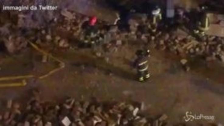 Nuovo crollo a Roma: cede un muro a Villa Mercede