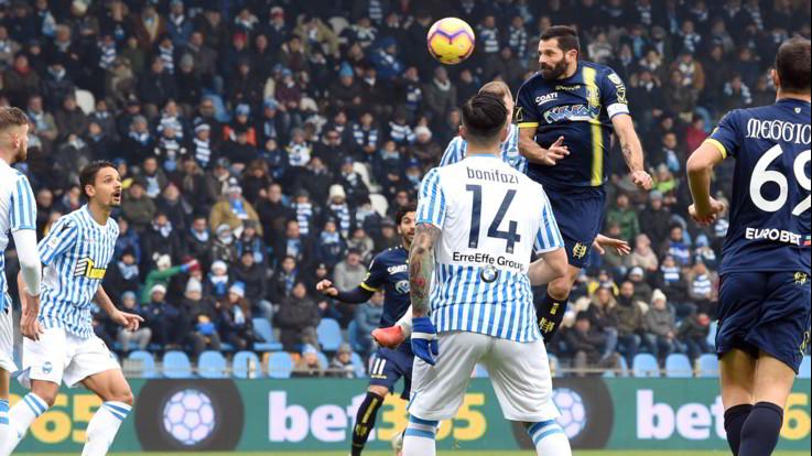 Serie A, Spal e Chievo a reti inviolate: quarto pari per Di Carlo