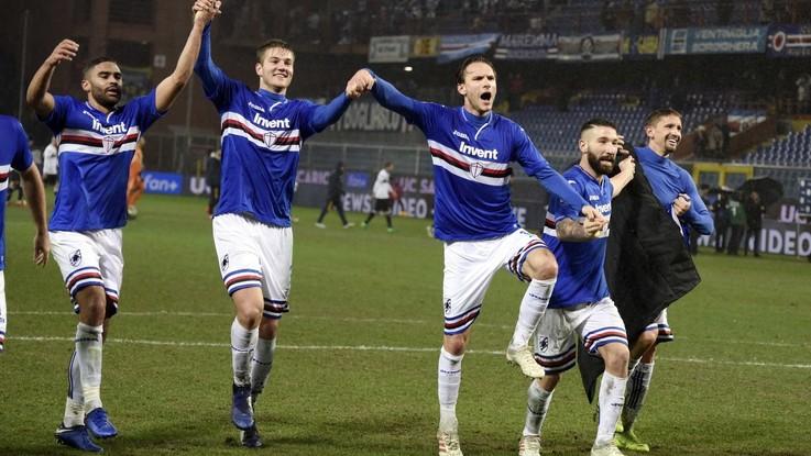 Serie A, Caprari-Quagliarella: Sampdoria batte Parma e vede Europa